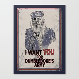 Uncle Dumbledore Canvas Print