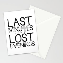 Last Minutes Stationery Cards
