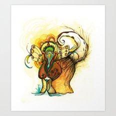 gatoelho Art Print