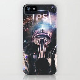 YOUR OWN WORLD iPhone Case