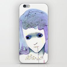 HOW BIG HOW BLUE iPhone & iPod Skin