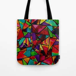 Window to a Colorful Soul Tote Bag