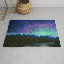 Arctic Aura - Painting Rug