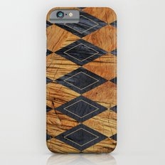 Wood cut abstraction Slim Case iPhone 6s