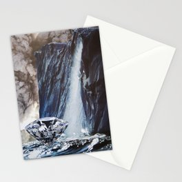 Diamond Sea Stationery Cards
