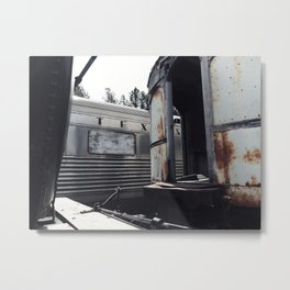 Tex's Train Metal Print