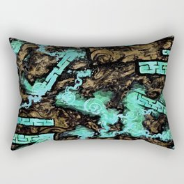 Psyesquivel 01 rock-n-ice Rectangular Pillow