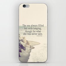 Filled with Longing iPhone & iPod Skin
