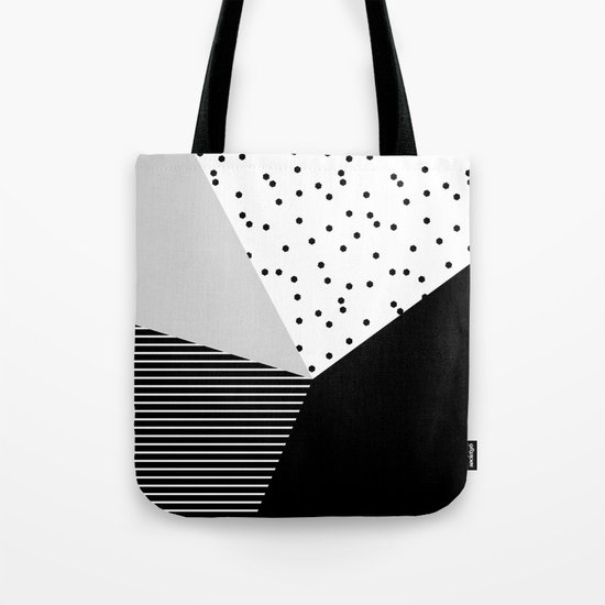 Geometry Blocks 10 Tote Bag