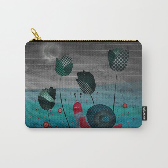 snail in a bad mood Carry-All Pouch