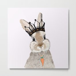 The King of Easter Metal Print