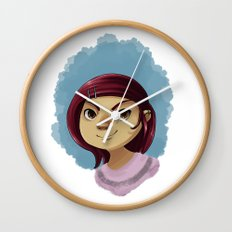 Cutie Pie Wall Clock