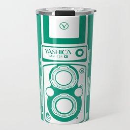 Yashica Mat 124G Camera Emerald Travel Mug