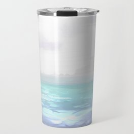 A Gloomy Seafront Travel Mug