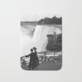 Vintage Niagara Falls - View From Goat Island - 1908 Bath Mat