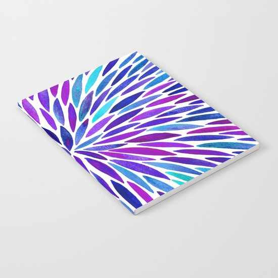 Lavender Burst Notebook
