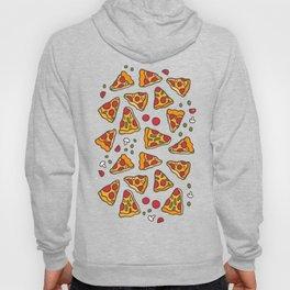 Funny pizza pattern Hoody