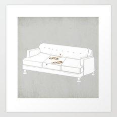 F*** Yo Couch N**** Art Print