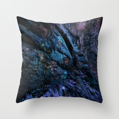 Space Landscape: Extraterrestrial Planet  Throw Pillow