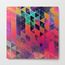 synthstar retro:80 Metal Print