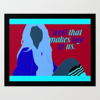 "selena gomez Art Prints featuring ""Well that makes two of us"" - Selena Gomez by teeninkd"