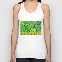 attack on titan Tank Tops featuring Titan by Avigur