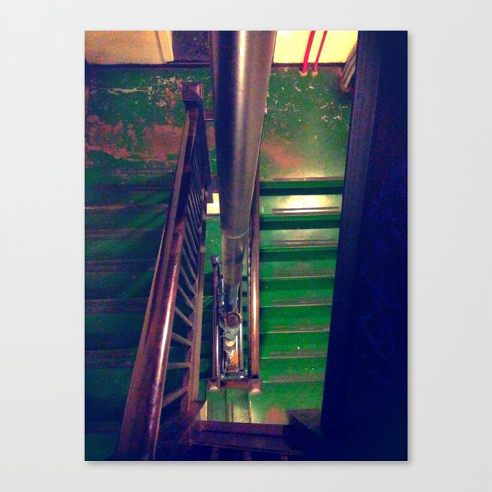 Staircase #2 color Canvas Print