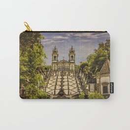 Portugal, Minho district, Braga, the sanctuary of Bom Jesus and the baroque stairway Carry-All Pouch