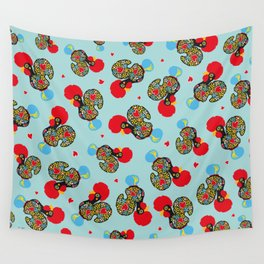 Rooster of Barcelos | Portuguese Lucky Charm Wall Tapestry