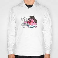 kirby Hoodies featuring E Kirby by cudatron