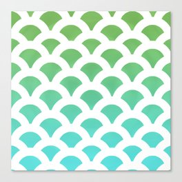 Cool Scales Canvas Print