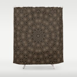 The Interconnected Story Shower Curtain