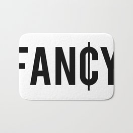 Fancy Cent Symbol Typography Bath Mat