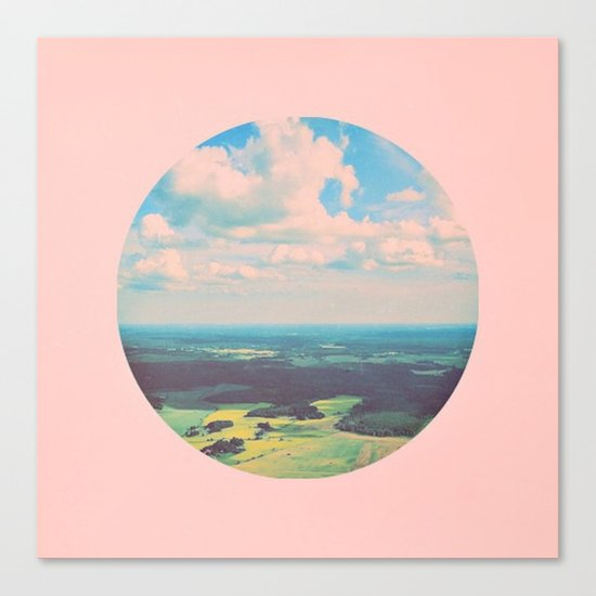 Earthy Pink Canvas Print