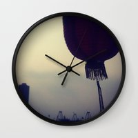 lantern Wall Clocks featuring Lantern by thefrenchhongkongmovement