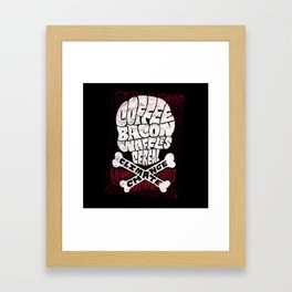 Culinary Casualties of Climate Change Framed Art Print