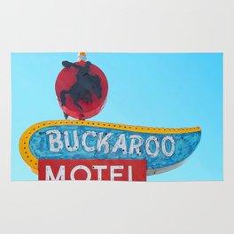 Buckaroo Motel Rug