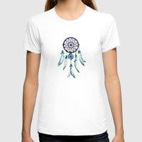 dreamcatcher T-shirts featuring Dreamcatcher by Monika Strigel®