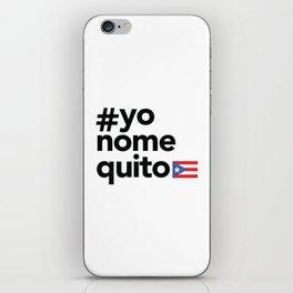 #yonomequito iPhone Skin