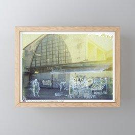 The city remembers; fruit and vegetable market Framed Mini Art Print