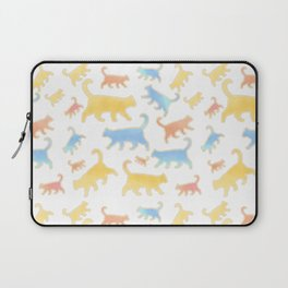 Watercolor Cats - Cats Everywhere! Laptop Sleeve