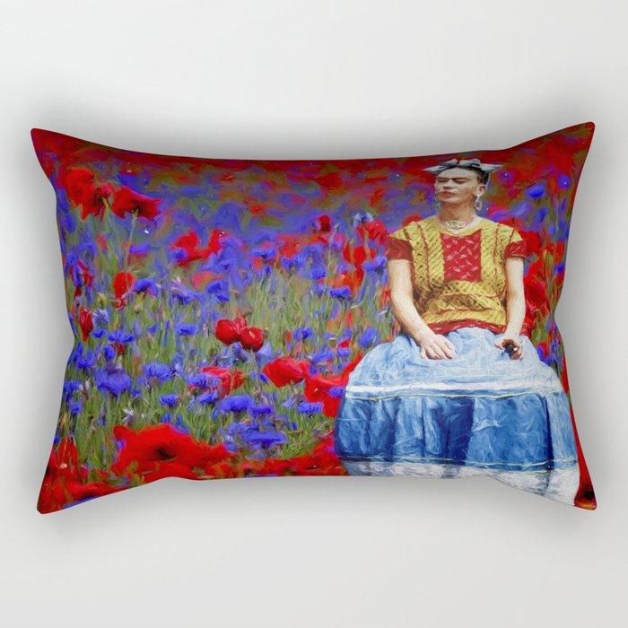 FRIDA dreaming away Rectangular Pillow