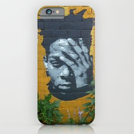 New York city urban graffiti wall iPhone Case