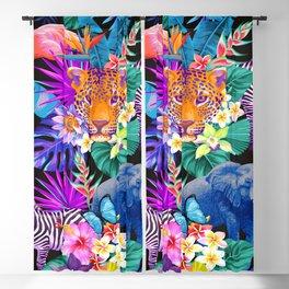 Tropical Animals Blackout Curtain