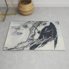 Crow And The Moon - Digital Remastered Edition Rug