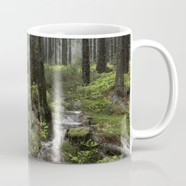 Mountains, forest, water. Coffee Mug