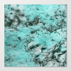Marbalicious Blue Canvas Print