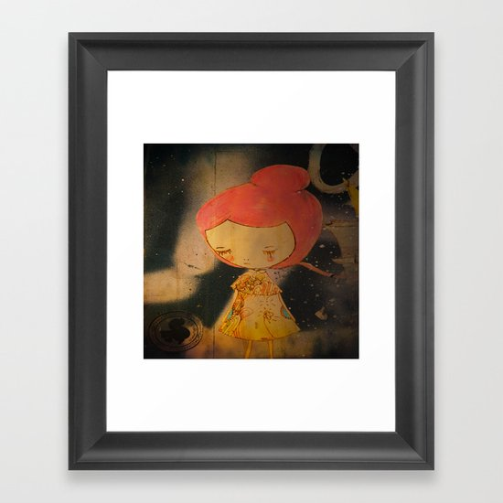 Beautiful small things I found in Barcelona streets Framed Art Print