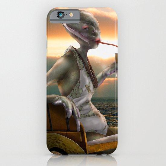 Alien Abroad iPhone & iPod Case
