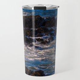 Maine's Rocky Coast Travel Mug